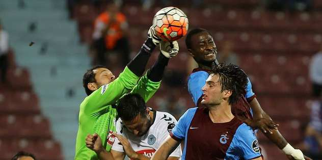 Trabzonspor hakem kurbanı!