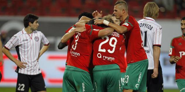 Lokomotiv Moskova kazandı