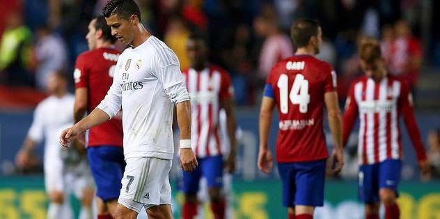 Atletico, Real'e geçit vermedi
