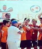 Galatasaray U15 şampiyon