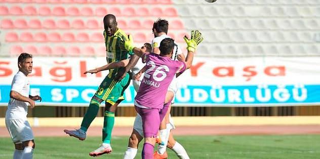 Urfa Edinho ile üçlük attı