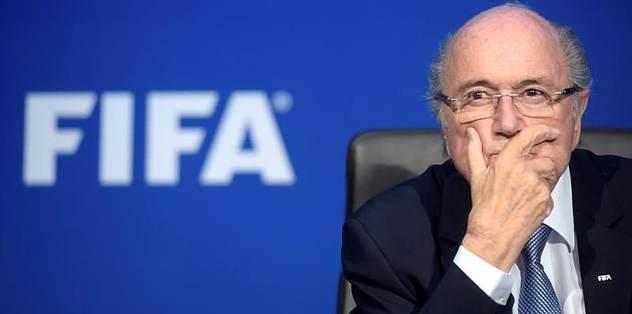 Blatter'e büyük şok