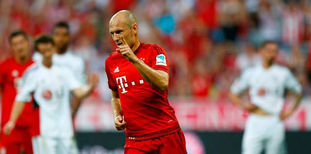 Aslan isterse Robben'i alır