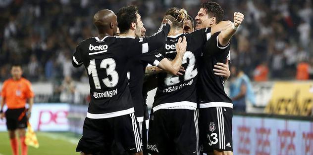 İlk yarının lideri Beşiktaş