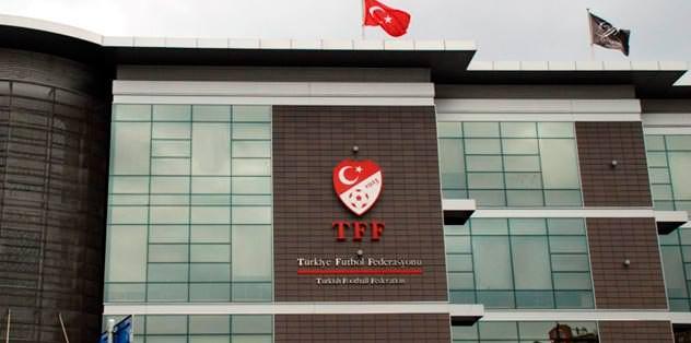 TFF'den skandal karar