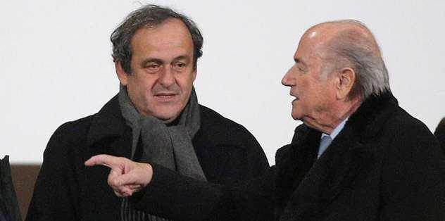 Blatter ve Platini'nin hesaplarını FIFA bozdu