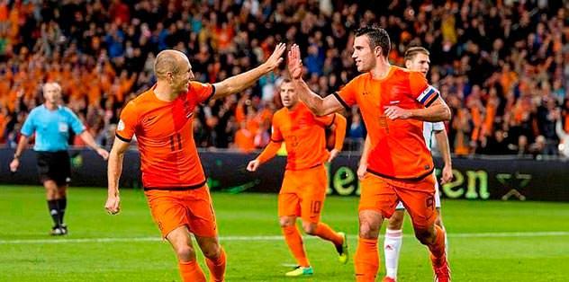 Robben gelecek Persie coşacak