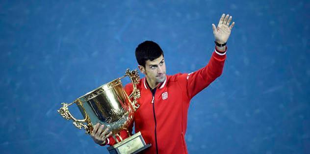 Djokovic, Nadal'ı yenip zafere koştu