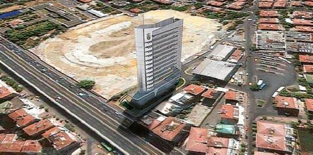 Ali Sami Yen Otel yükseliyor