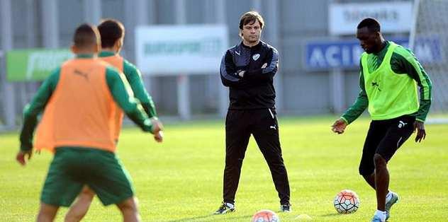 Bursaspor, Antalyaspor maçına konsantre