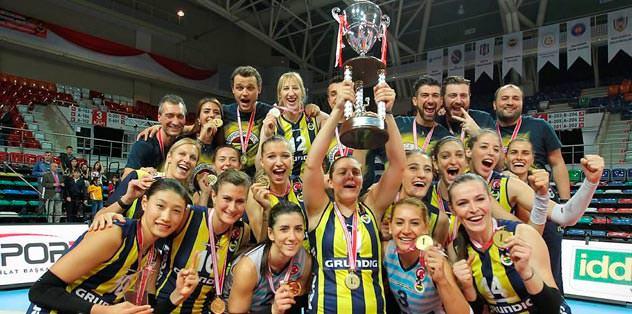 Şampiyonlar Kupası Sarı Melekler'in