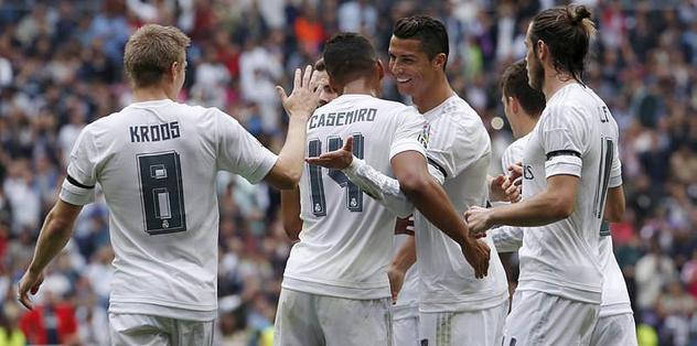 Real, Levante'ye üçledi