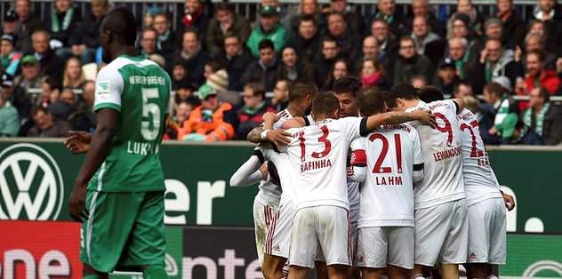 Bayern Münih seriyi bozmadı