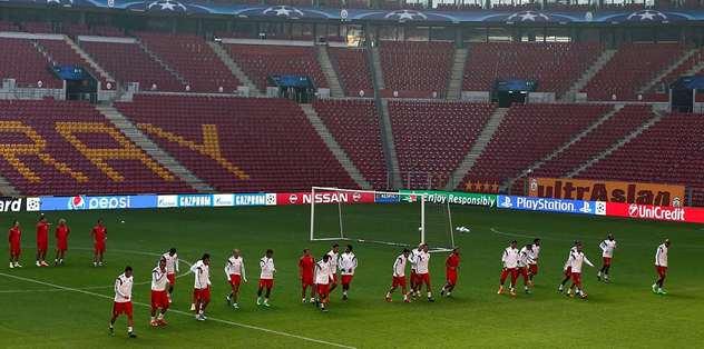 Benfica, Galatasaray hazırlıklarını tamamladı