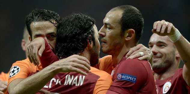 Galatasaray beats Benfica