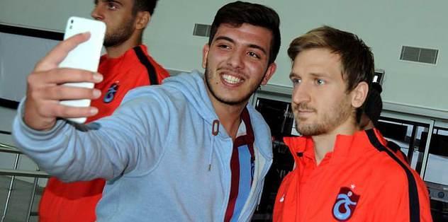 Trabzon'u 1 taraftar karşıladı