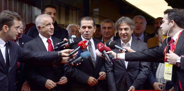 Dursun Özbek derbiye gidecek mi?