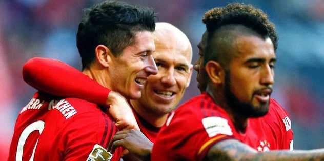 Robben döndü Bayern coştu