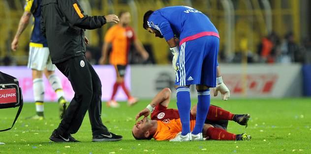 Sneijder'in gözyaşları