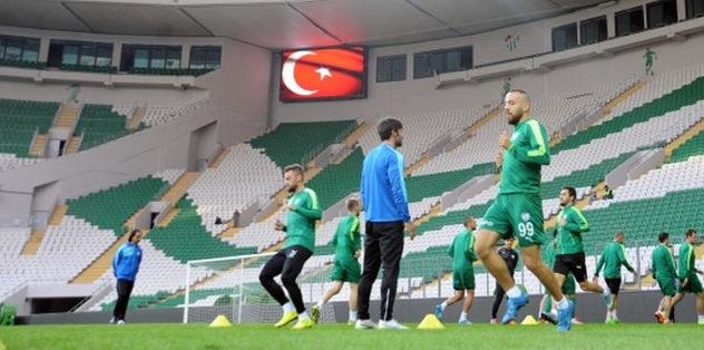 Bursaspor Timsah Arena'ya indi
