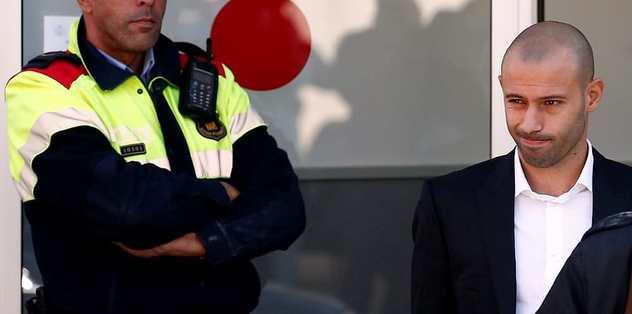Mascherano vergi kaçırdığını kabul etti