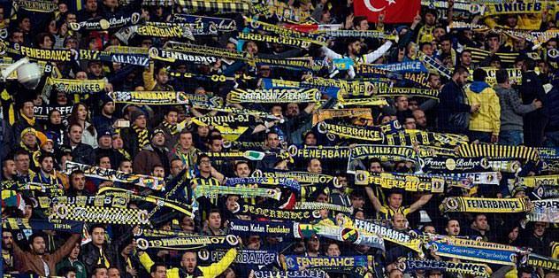 Ankara'da taraftar şov