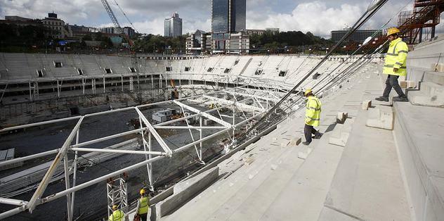 Vodafone Arena'da sevindiren gelişme