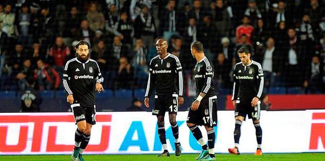 Kartal ilk kez 3 gol yedi