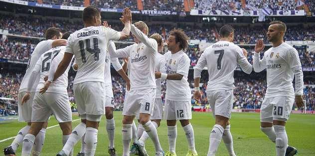 Lider Real Madrid sahasında 3'ledi