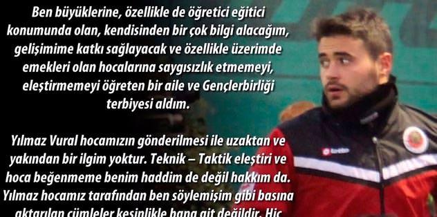 Ahmet Çalık'tan Vural'a yanıt