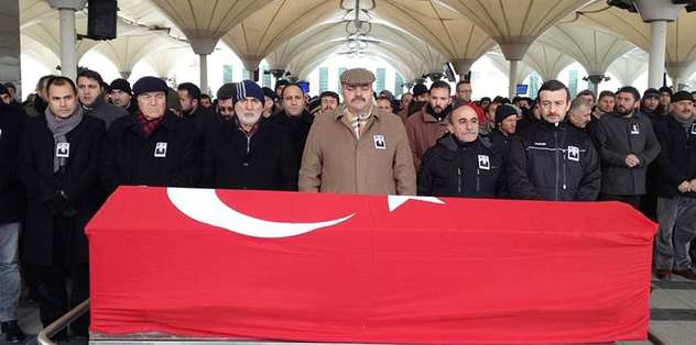 Mehmet Akzambak son yolculuğuna uğurlandı