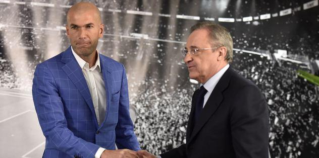 Benitez'in yerine Zidane getirildi