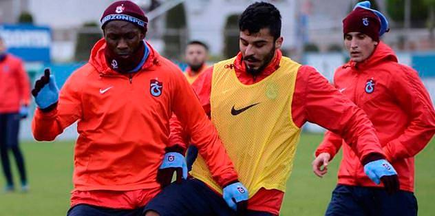Mbia Trabzon'a döndü