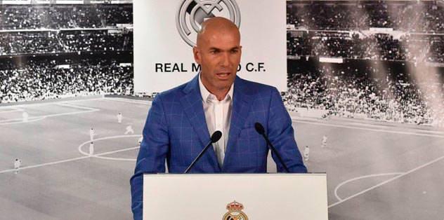 Zidane'a tepki