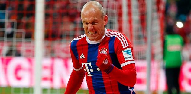Robben Fener'i sordu