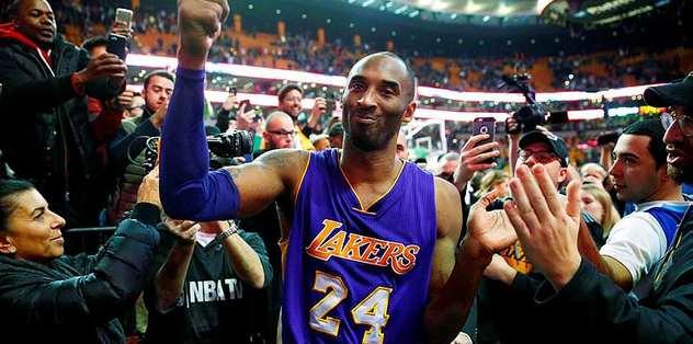 Kobe Bryant hala zirvede