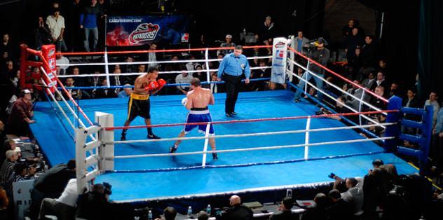 A Spor'da boks ziyafeti