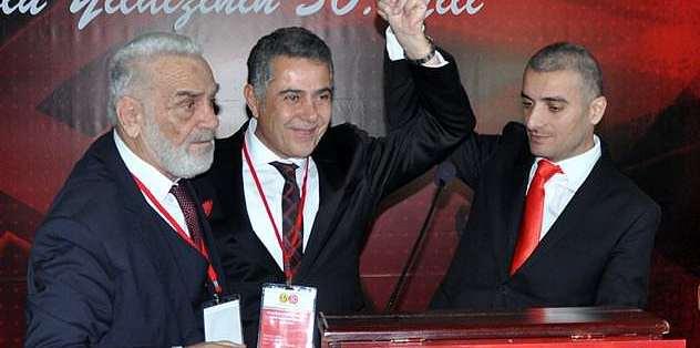 Mesut Hoşcan yeniden başkan seçildi