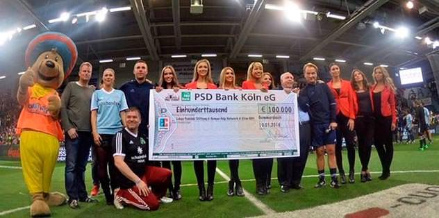 İyilik için 100 bin euro