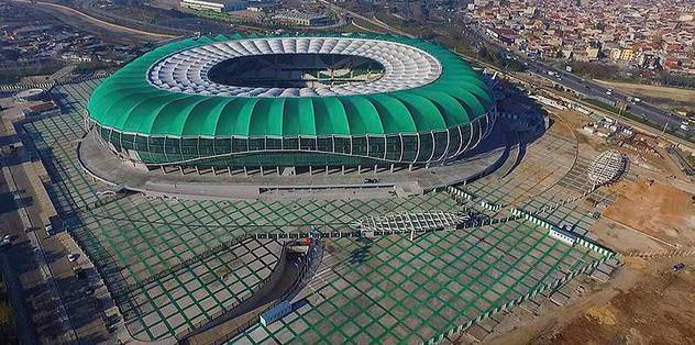 Trabzon maçı Timsah Arena'da