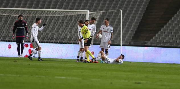 Beşiktaş'ta sakatlık