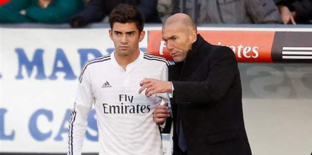 Real Madrid'i Zidane'ın oğlu yaktı