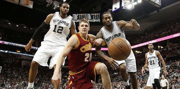 Spurs'ü Cavaliers da durduramadı