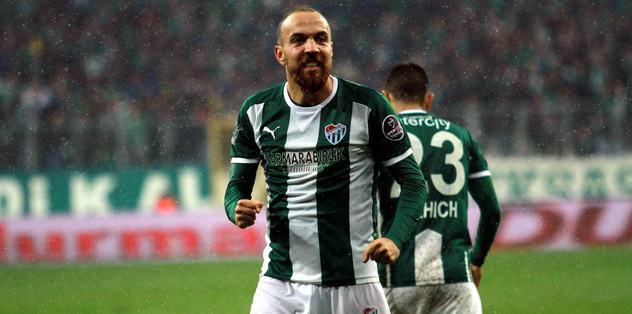 Sercan Bursaspor'da tarihe geçti