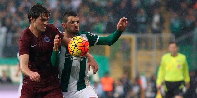 Trabzon başladı Bursa bitirdi