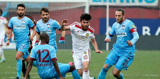 1461 Trabzon: 2 Yeni Malatya: 1
