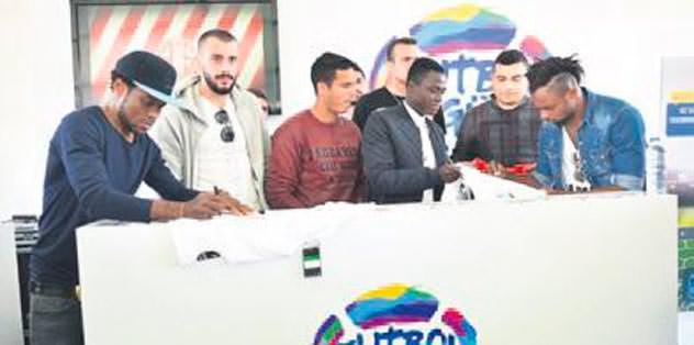 Antalya'da futbol şöleni yaşandı