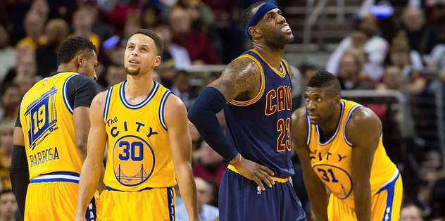 Warriors, Cavaliers'a fark attı