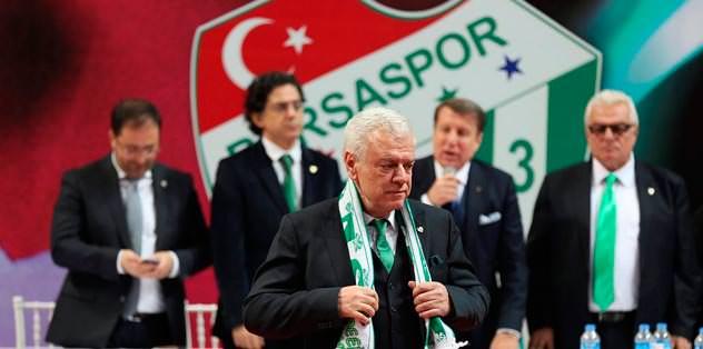 Bursaspor'da Ali Ay dönemi