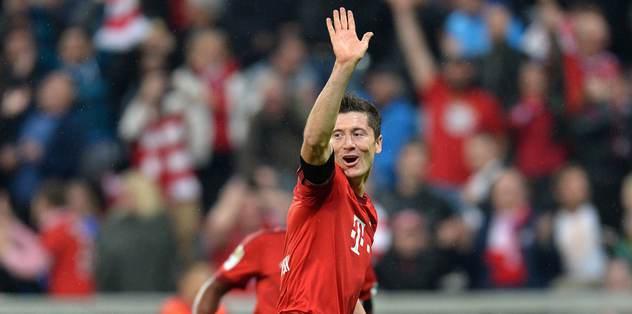 Bayern'i Lewa sırtladı